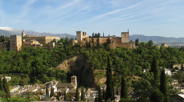 Madrid, Granada, Córdoba y Sevilla en tren